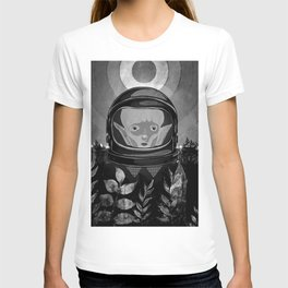 We come in peace No. 2 BW T-shirt