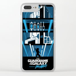 Guardians of the Galaxy - Mission: BREAKOUT! Poster Clear iPhone Case