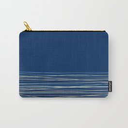 Blue thread , abstract Carry-All Pouch