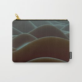 Brown mountains of wax Carry-All Pouch