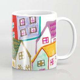 bright, bright houses Coffee Mug