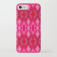 ikat iPhone & iPod Cases featuring Ikat by Amy Sia