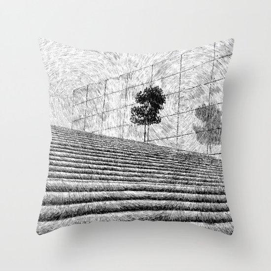 Fingerprint - Stairway Throw Pillow