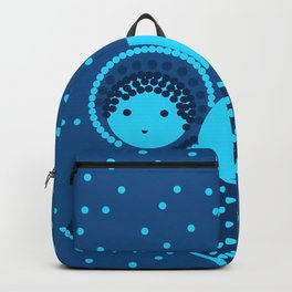 Angels on the deep blue Backpack