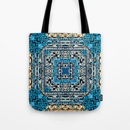 Tribal Hieroglyphics Tote Bag