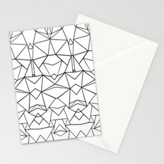 Abstraction Mirrored Stationery Cards