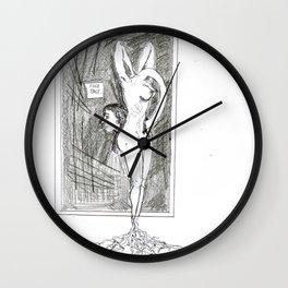 Fake past Wall Clock