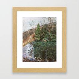 Appalachia Pond Framed Art Print