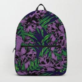 Orchid Skulls Backpack