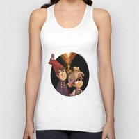 over the garden wall Tank Tops featuring Over the Garden Wall by stubbornpotato