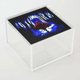 Shadow Light Of Tardis Acrylic Box