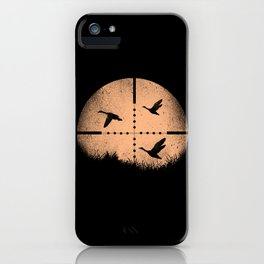 Duck Hunting iPhone Case