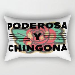 Poderosa Y Chingona Rectangular Pillow