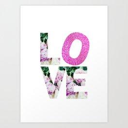 Love Blooms Art Print