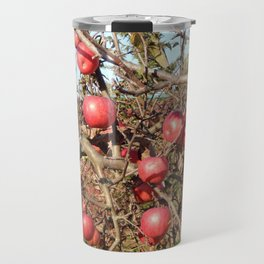 Planting young tree seedlings in autumn in the garden Travel Mug