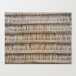 Wicker Weave Canvas Print