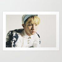 shinee Art Prints featuring Key - SHINee by Felicia