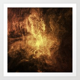 The Burning Art Print