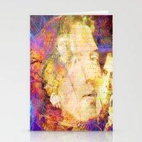 oscar wilde Stationery Cards featuring Oscar Wilde by Ganech joe