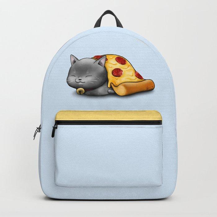 Purrpurroni Pizza Backpack