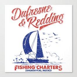 Defresne & Redding Fishing Charters Canvas Print