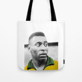Pelè - Brazilian top player Tote Bag