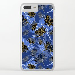 Cosmos Sillouette Clear iPhone Case
