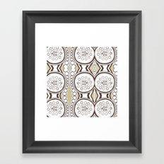 Spin & Spin Framed Art Print