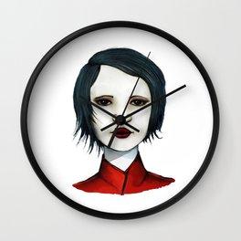 Petroleum Girl Wall Clock