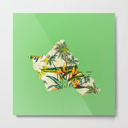 Oahu's Bird of Paradise Metal Print