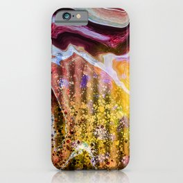 Marble Grease iPhone Case