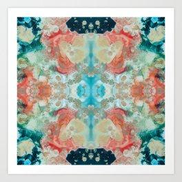 Sea Garden 2.3 Art Print