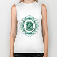 haunted mansion Biker Tanks featuring Haunted Mansion - In Regions Beyond Now by Joel Dickinson