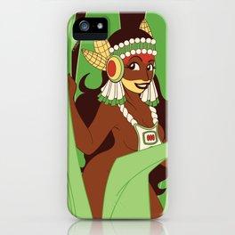 Divine Dames: Xilonen iPhone Case