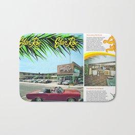 Eden Roc Motel 1960's Brochure in Wildwood, New Jersey Bath Mat