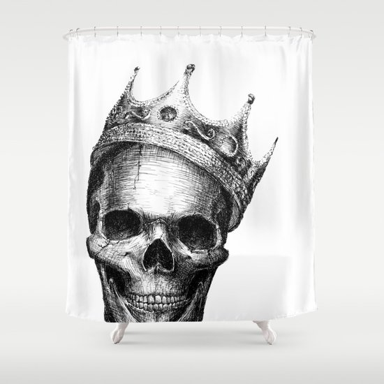 The Notorious B.I.G. Shower Curtain