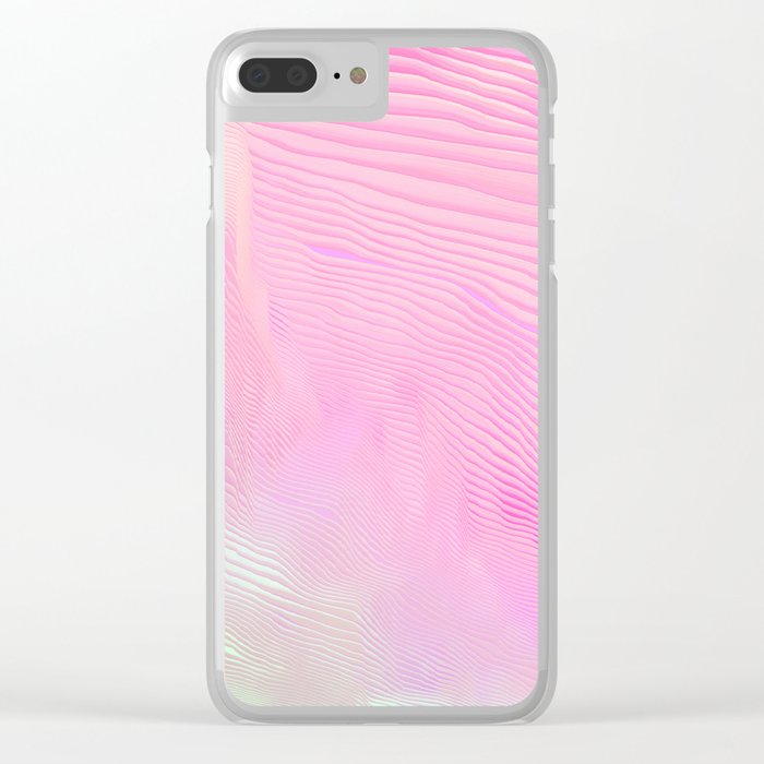 I love you loving me Clear iPhone Case