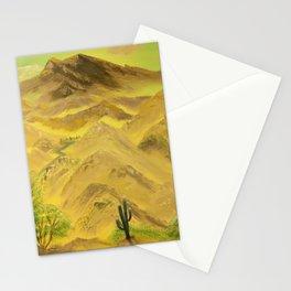 Wonderful desert mountains Stationery Cards