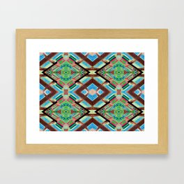 Psycho Exotic, Balinese Architecture Framed Art Print