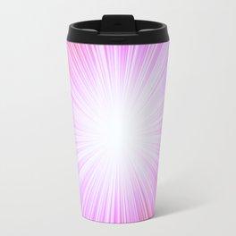 Pink Rays Travel Mug