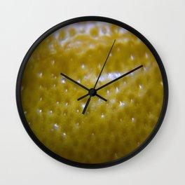 Lemon Peal Wall Clock