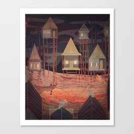 Tonle Sap Lake Canvas Print