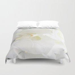 White Lily Flower Duvet Cover