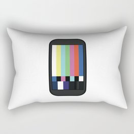 No Signal Rectangular Pillow