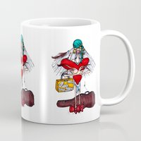 gypsy Mugs featuring Gypsy by Natalie Easton