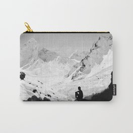 Snowy Isolation Carry-All Pouch