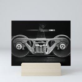 have oil will travel Mini Art Print