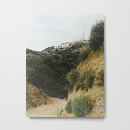 Beachwood Canyon Metal Print