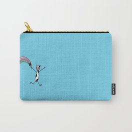 Running Rainbow Carry-All Pouch
