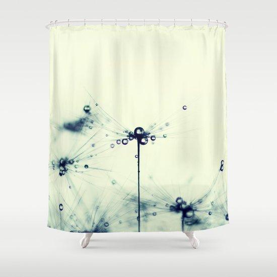 Dandelion Ix Shower Curtain By Ingrid Beddoes